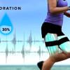 足に付けて生態信号を測るウェアラブルセンサー「LEO: Wearable Fitness Intelligence」